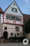 Blick auf Steinhaus