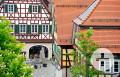 Blick aufs Alte Rathaus Neubulach