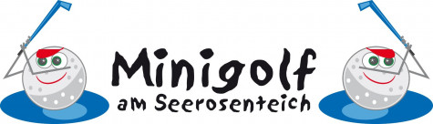 Logo der Minigolfanlage am Seerosenteich