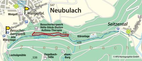 Ziegelbach am Fledermauspfad